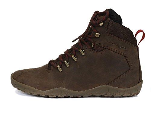 [Vivobarefoot] ハイキングシューズ 防水 メンズ トレッキングシューズ レザー Tracker FG Mens 27.5~28.0cm Dark Brown