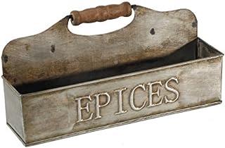in zinco Antic Line Porta sapone