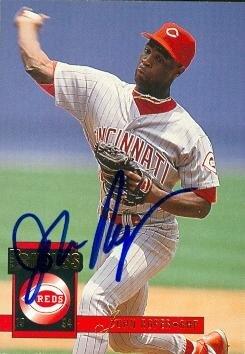 Autograph Warehouse 57413 John Roper Autographed Baseball Card Cincinnati Reds 1994 Donruss No .551
