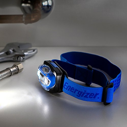 Energizer Head Torch, Vision LED Headlamp, Batteries Included