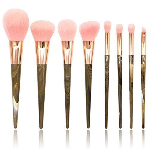 Fanxp® Professional 8Pcs Fashion Handle Makeup Brushes Set, Foundation Blush Eye Shadow Concealer Lip Eye Makeup Brush Cosmetic Beauty Tool