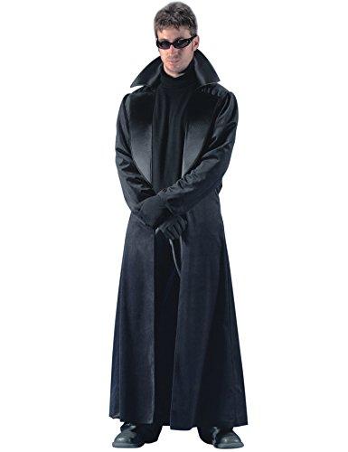 Generique - Déguisement Manteau Long Noir Homme XL