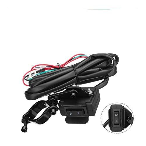 HUANHUAN Department Store Ajuste para la Motocicleta ATV/UTV Winch Rocker Switch MANDARDAR Línea de Control de la línea de Control eléctrico de la línea eléctrica 2.5m