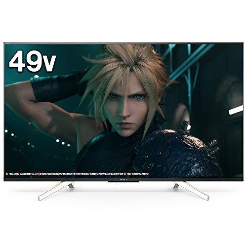 ソニー 49V型 液晶 テレビ ブラビア 4Kチューナー内蔵 Android TV機能搭載 Works with Alexa対応 2019年モデル KJ-49X8500G