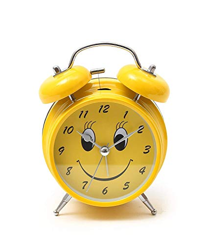 Shri Anand Creations Metal Twin Bell Alarm Clock