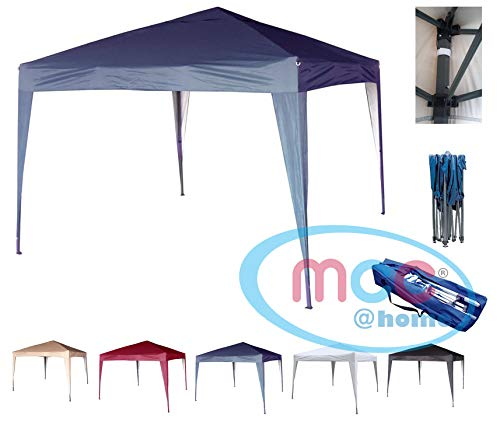 mcc direct 3x3m Pop-up Gazebo Waterproof Outdoor Garden Marquee Canopy NS (Blue)