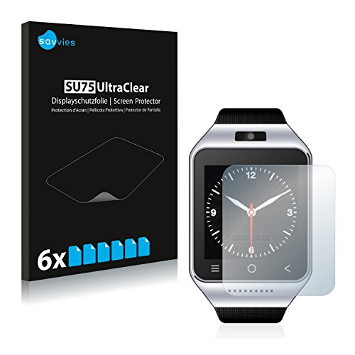 Savvies 6X Schutzfolie kompatibel mit ZGPAX S8 Displayschutz-Folie Ultra-transparent