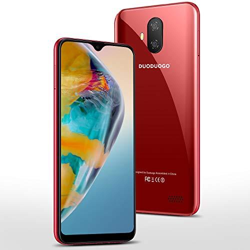 Smartphone Offerta del Giorno 5.5 pollici 32GB/128GB ROM 3GB RAM Android 9.0 Certificato Google GMS Smartphone Economici Cellulari Offerte Dual SIM 3400mAh Telefono Cellulare in Offerta 4G(Rosso)