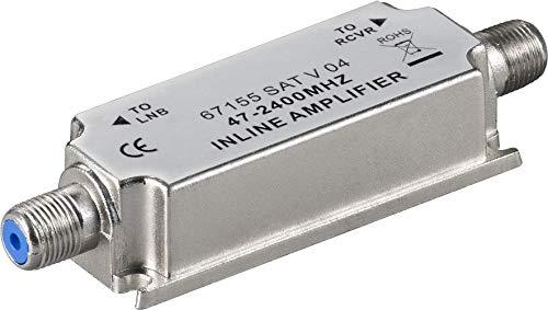 Goobay 67155 SAT/BK-Antennenverstärker 47 MHz - 2400 MHz,