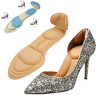 Heel Cushion inserts heel grips and shoe pads for women Heel Pads Non-Slip Sponge insole for woman Size EU 35-40