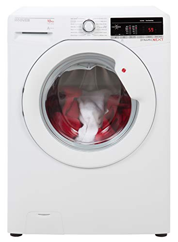 Hoover DLOA 4103 Freestanding Washing Machine, NFC Connected, 10Kg Load, 1400rpm spin, White