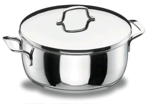Lacor - 90022 - Cacerola Con Tapa 22 Gourmet Inox
