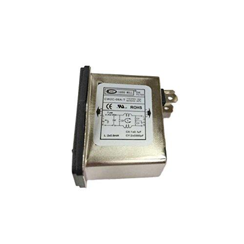 H HILABEE CW2C 6A T Buchse EMI Filter Abschirmender EMI Filter Interferenzfilter