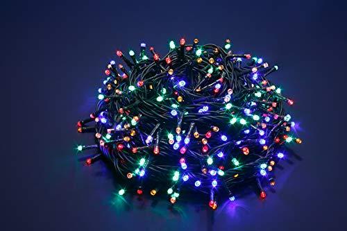 Bellera Cadena LED luces de Navidad, perfectas para uso exterior o interior
