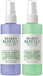 Mario Badescu Facial Spray with Lavender and Facial Spray with Cucumber Duo
