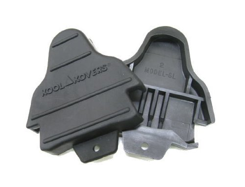 Kool Kovers-Cleat covers for Shimano SPD-SL Pedal Systems, Black
