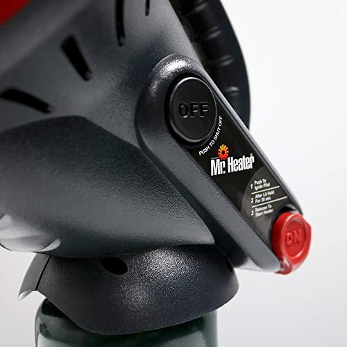 Mr. Heater F215100 MH4B Little Buddy 3800-BTU Indoor Safe Propane Heater, Medium