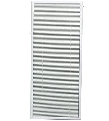 ODL Add On Blinds for Flush Frame Doors - Outer Frame Measurement 27' x 66'- Home Improvement - Easy to Install, Use and Maintain - Innovative Window Shades Protected Behind Tempered Safety Glass