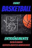 Carnet BASKETBALL-Carnet de suivi entraînement -coach...