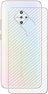 Soezit Back Screen Vinyl Guard Compatible with Vivo S1 Pro Anti-Scratch Anti-Fingerprint for Safe Protection
