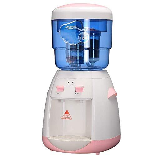 UWY Mini Petit Refroidisseur d'eau à Chargement par Le Haut avec Filtre à Seau d'eau, Distributeur de Refroidisseur d'eau de comptoir (Couleur: Rose)