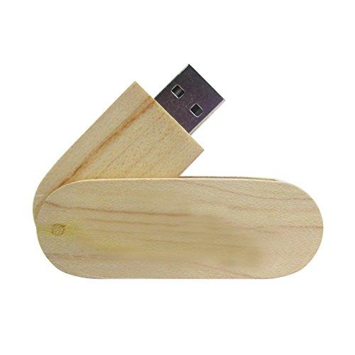 ciway bambú natural Eco-friendly unidades Flash USB con diseño de cuchillo giratorio Wooden 32 gb