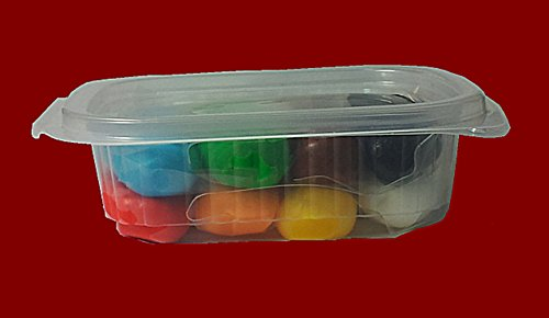 Rollfondant Icing Fondant Masse Tortendeko Tortendecke 30 Farben (8-Farben Mix 200g)