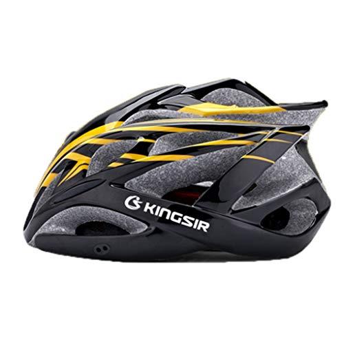 Verstellbarer Fahrradhelm für Erwachsene Insektennetz Atmungsaktiver Fahrradhelm Ultraleichter Fahrradhelm Mountainbike-Helm