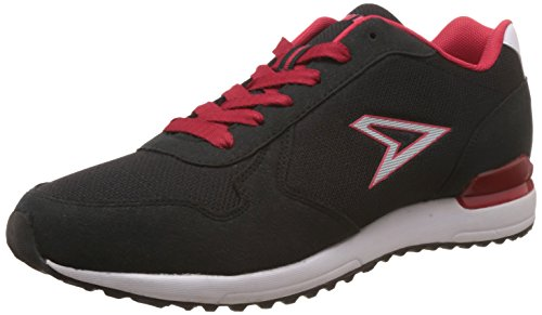 Power Men's Black Running Shoes - 7 UK/India (41 EU) (8316215)