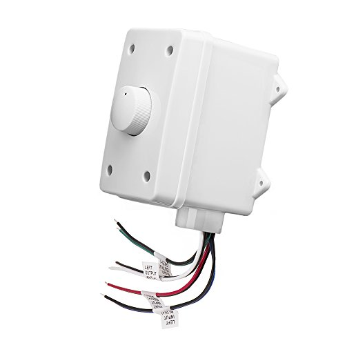 OSD Outdoor 100W Volume Control Impedance Matching, Weather Resistant Enclosure OVC100, White