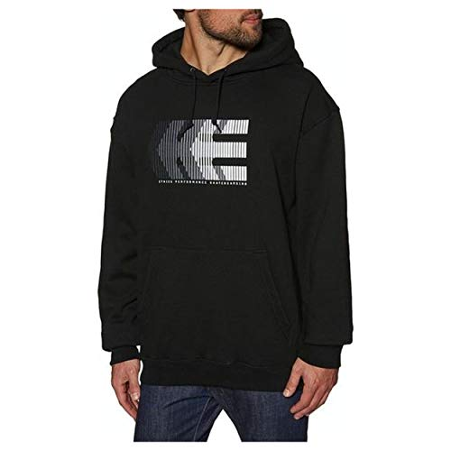 Etnies After Burn Pullover Hoody Small Black