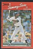 1990 Donruss Sammy Sosa White Sox Rookie Baseball Card #489