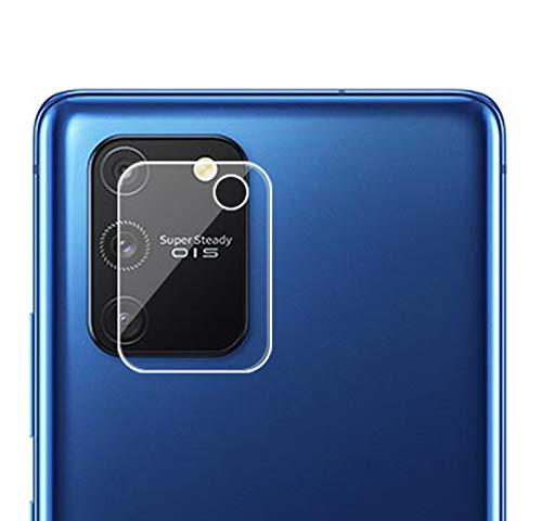 NOKOER Protector Cámara para Samsung Galaxy S10 Lite, [3 Pack] Protector de Pantalla Cámara, 2.5D Película de Protección de Vidrio Templado Resistente a Los Arañazos - Transparente