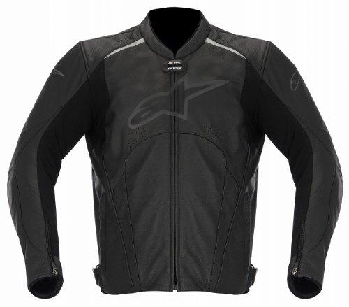 Alpinestars Avant Lederjacke, Farbe schwarz, Größe 56