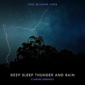 Rain and Thunder for Deep Sleep