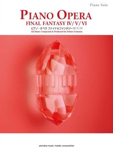 Piano Solo Piano Opera Final Fantasy Iv v vi Music Score Book