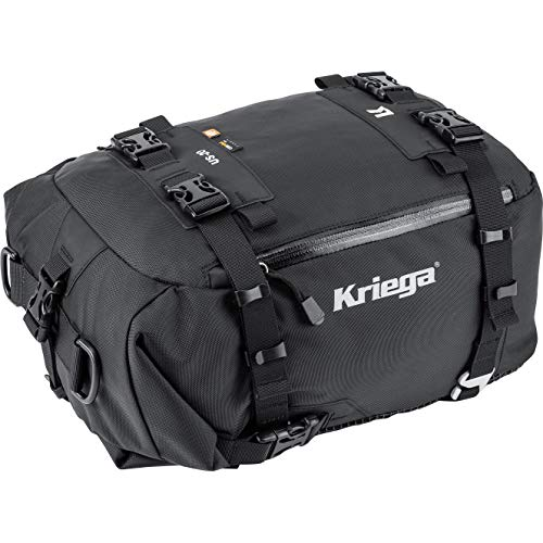 Kriega Hecktasche Motorrad Motorradtasche Hecktasche/Tankrucksack US-20 Drypack wasserdicht schwarz, Unisex, Multipurpose, Ganzjährig, Nylon