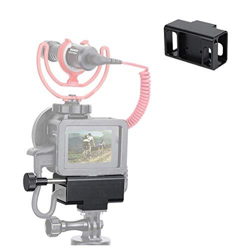 Linghuang - Adaptador de micrófono de aleación de Aluminio CNC para GoPro Hero 8 Black/7/6/5