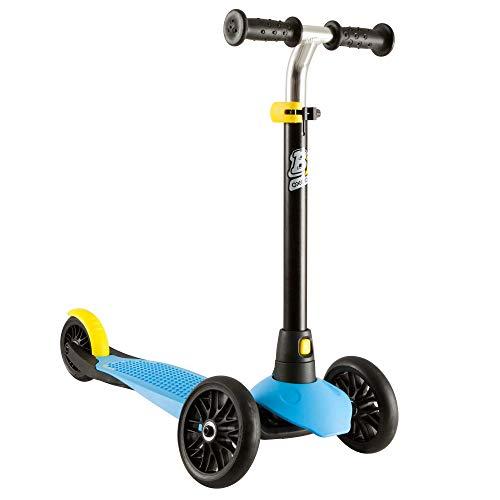 Oxelo Kinderroller B1 schwarz blau Roller Kickscooter Scooter Höhenverstellbar Kinder Mädchen Jungen Mini Kleinkinder Geschenk Geburtstag Tretroller