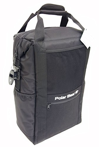 Polar Bear Coolers Original Backpack Soft Cooler Black