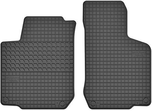 Motohobby Gummimatten Vorne Gummi Fußmatten Satz für VW Volkswagen Golf IV/Bora/New Beetle/Skoda Octavia I/Seat Leon I/Toledo II - 2-teilig - Passgenau