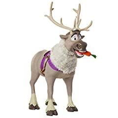 """Everyone's favorite reindeer is ready to explore adventures in Arendelle and beyond Playdate Sven stands over 3 feet tall and supports a child up to 70 lbs Features over 20 sounds, including 2 phrases in Kristoff's hilarious """"Sven"""" voice! Feed Sven h..."""