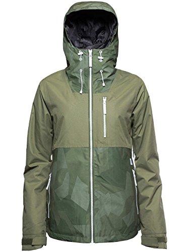 CLWR Colour Wear Damen Cake Jacke, Loden, L