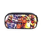 Fnaf Cosmetic Bag, Pencil Stationery Pouch Bag, 3d Printing Five Night At Freddy's Bag, Springtrap, Foxy, Bonnie, Rabit, Marionette, Chica