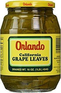 Outstanding Orlando California Grape Leaves Kosher oz. For 16 Ranking TOP18 Pack Passover
