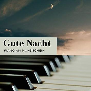 Gute Nacht Piano am Mondschein