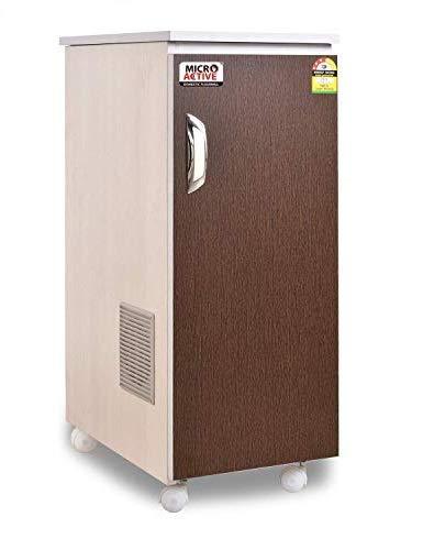 MICROACTIVE® Classic Fully Automatic Domestic Flour Mill,Aata Maker,Atta chakki,Ghar Ghanti,with Standard Accessories.(Wooden Brown, matt Finish)