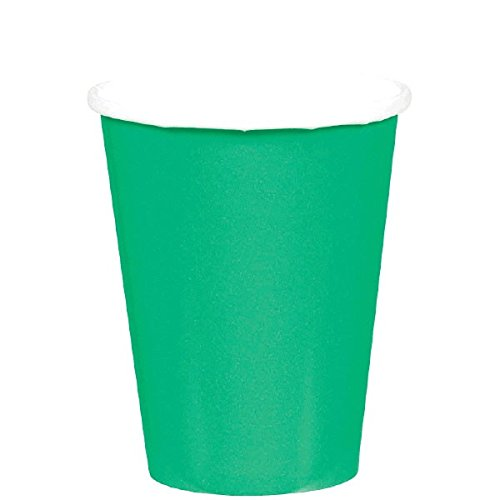 Amscan 8 Gobelets (26,6 Cl) Vert Taille : 26,6cl