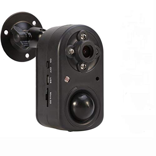 Cámara de Seguridad eoqo , Sistema de Cámara de Seguridad para el Hogar 1080P PIR con Detección de Movimiento, Cámara de Visión Nocturna con Alimentación por Batería DVR | Tiempo de Espera Largo