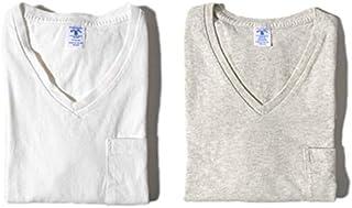 [ベルバシーン] ポケット付き VネックTシャツ パックT 2枚セット 半袖Tシャツ (メンズ)